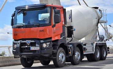 Renault Trucks facilita el arranque de la actividad de obras