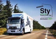El Renault Trucks D Wide 320, premiado como 'camión sostenible' en Italia