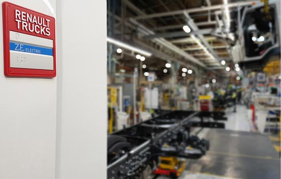 El Grupo Delanchy y Renault Trucks siguen potenciando la movilidad eléctrica