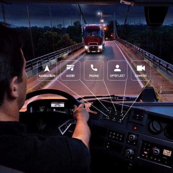 Roadpad, nuevo sistema multimedia y de navegación de Renault Trucks