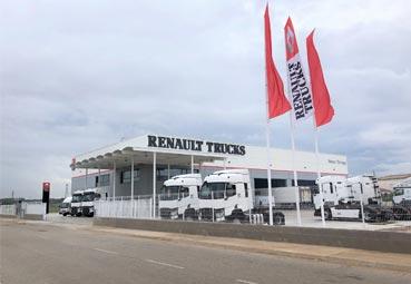 Renault Trucks inaugura unas nuevas instalaciones en Girona