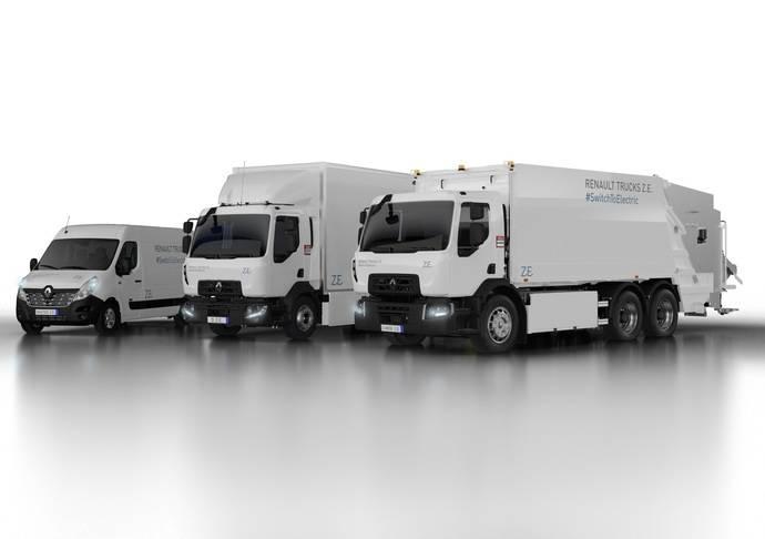 Renault Trucks presenta su segunda generación de furgoneta y camiones eléctricos