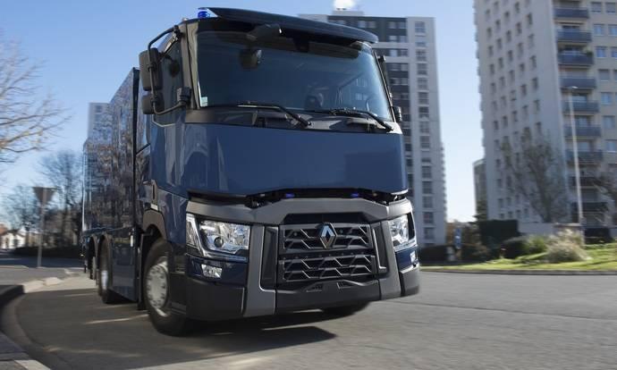 Renault Trucks T, los nuevos vehículos blindados del banco de Francia