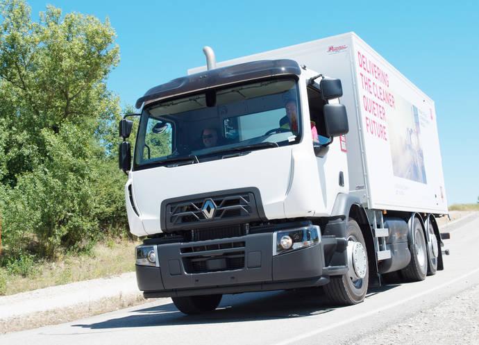 Renault Trucks muestra gama de vehículos de gas natural en la SITL