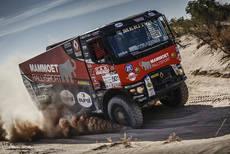 MKR Technology saborea la victoria en el rally de Libia de la mano de Renault Trucks