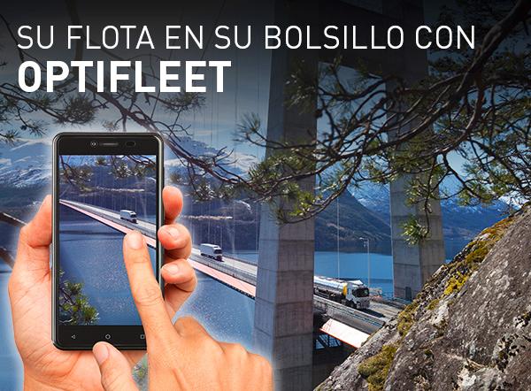 Renault Trucks lanza una nueva aplicación móvil para Optifleet
