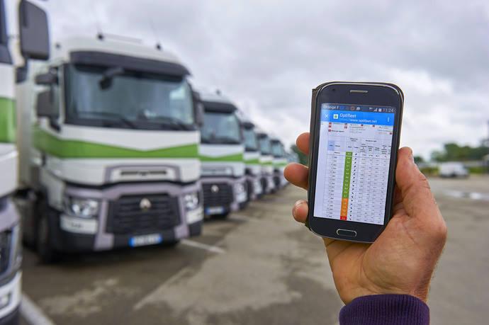 Servicios conectados orientas al ahorro de consumo de Renault Trucks