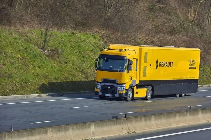 El Renault sport Formula One Team apuesta por el Renault Trucks T