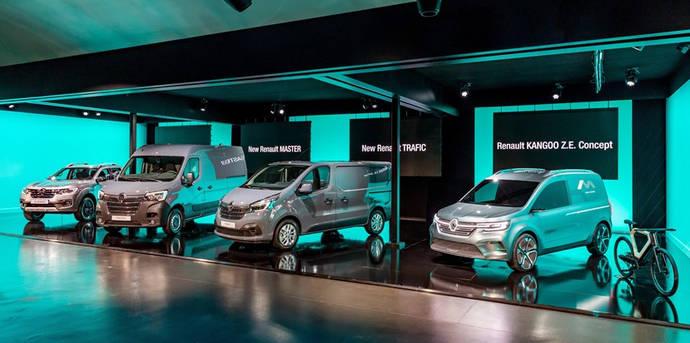 Renault lleva al vehículo comercial a entrar en una nueva dimensión, para afrontar el futuro