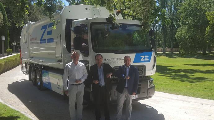 El primer eléctrico de serie de Renault Trucks, para Urbaser