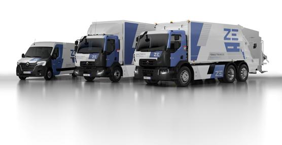 Renault Trucks inicia la producción en serie de su gama eléctrica