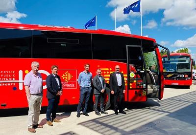 Tres Volvo Bus 9700 B100 para Autocars Payan (por Autocar & Bus Infos)