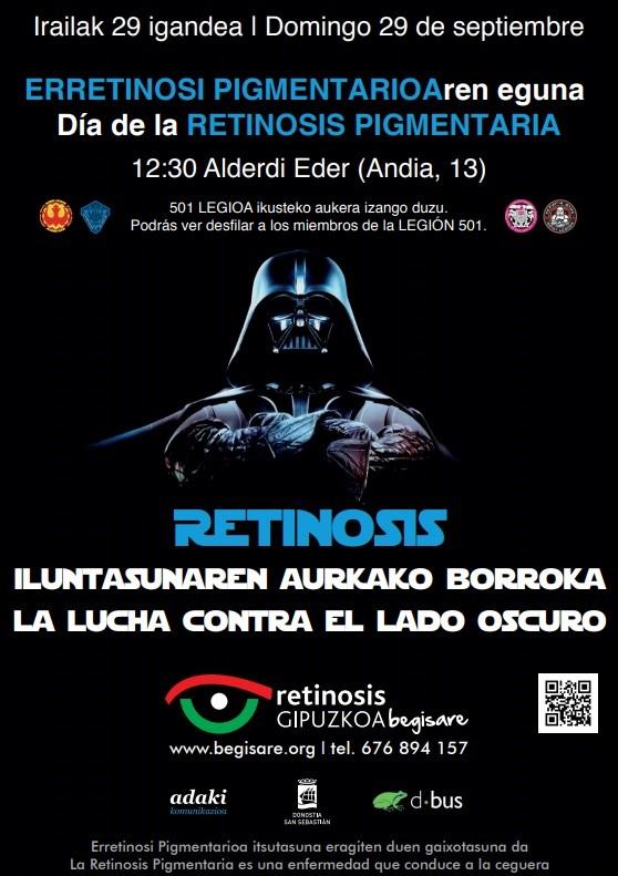 Dbus se suma al día mundial de retinosis pigmentaria