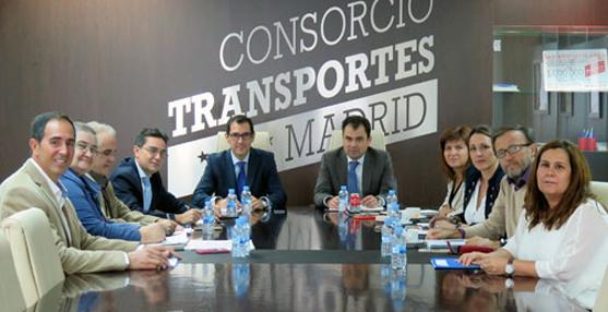 Alfonso Sánchez Vicente, gerente del Consorcio de Transportes de Madrid