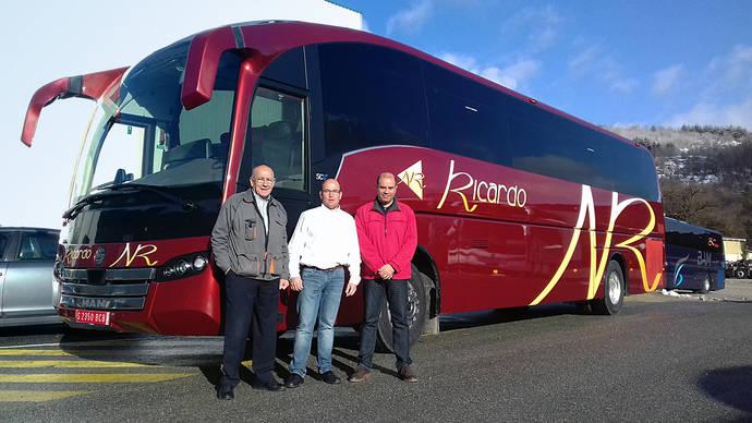 Autocares Ricardo y Navabus realiza la compra de un SC7 de Sunsundegui