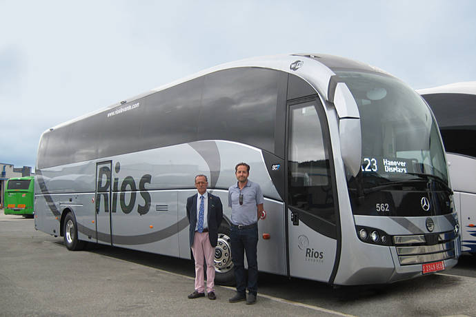 La compañía Autocares Ríos Levante realiza la compra de un SC7 de Sunsundegui