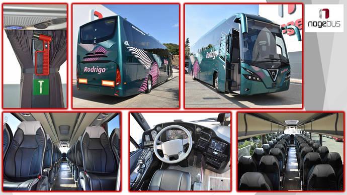 Nogebus entrega un Touring HDH a la empresa Autocares Rodrigo