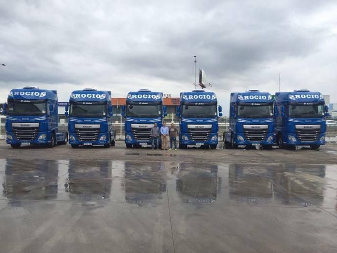 Transev/Rogetrans realiza la compra de seis DAF XF Super Space Cab