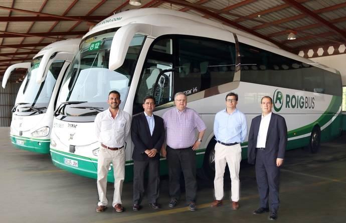 Roig Bus renueva su flota de buses con doce nuevos vehículos