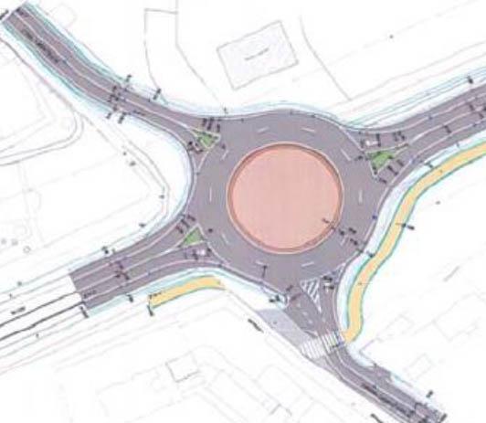 Mitma aprueba el expediente de información pública del proyecto de glorieta entre la N-120 y la carretera a Montejos del Camino, en León