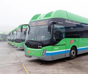 Grupo Ruiz presenta 13 nuevos autobuses propulsados por GNC
