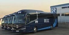 Autobuses con carrocería i6S de Irizar montados sobre Scania K410 EB.