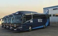 Ruiz rejuvenece su flota de discrecional con cinco autobuses
