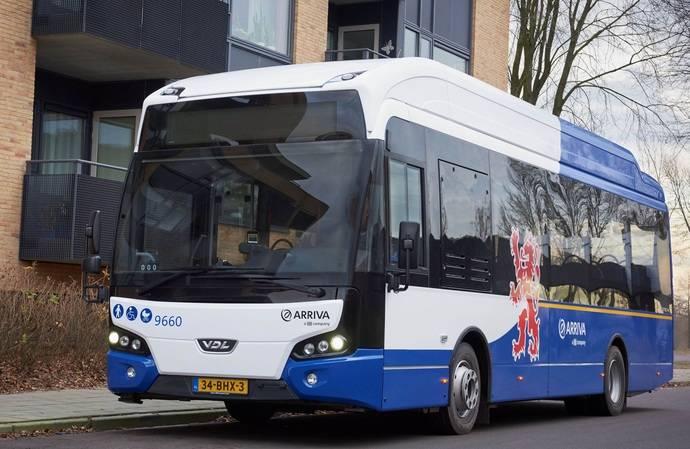 12 VDL Citeas 166 para la concesión de Arriva en Limburgo