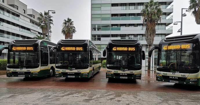 14 híbridos MAN para el urbano de Sabadell