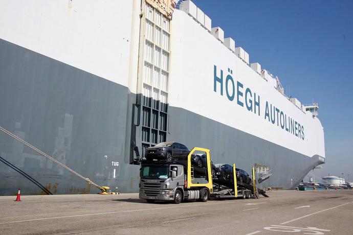Valenciaport mantiene el crecimiento del tráfico ro-ro