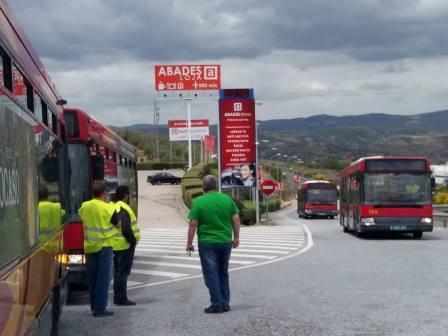 Tussam cede siete autobuses para el pueblo saharaui