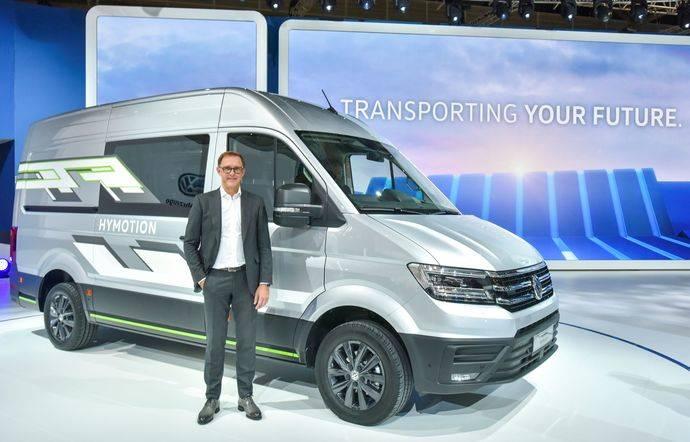 VW comerciales presenta en IAA cinco modelos de cero emisiones