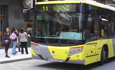 Santiago integrará un nuevo servicio de autobús urbano