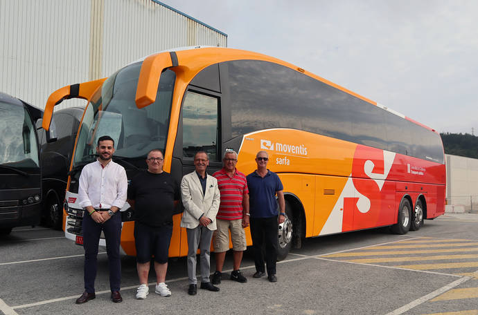Sarfa-Moventis confía en el SC7 de Sunsundegui