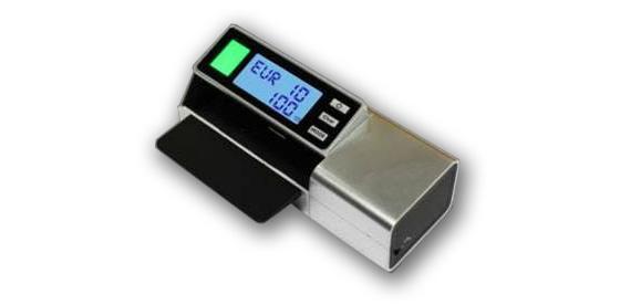 Scan Coin lanza un detector de billetes falsos