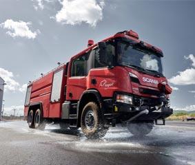Scania ofrece soluciones para aeropuertos sostenibles