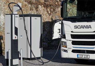 Scania se asocia con Engie y EVBox para ofrecer soluciones de recarga