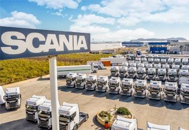 La empresa Intercox incorpora a su flota de vehículos 60 nuevos Scania 450 S