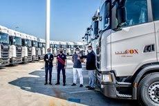 La entrega de las 60 unidades se ha llevado a cabo a través de Scalevante, concesionario oficial de Scania en Alicante.