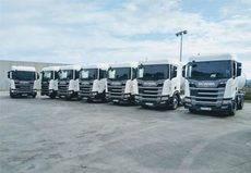 El grupo HAM incorpora a su flota 11 nuevos vehículos GNL de Scania