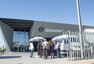 Scania presenta un nuevo concesionario en Huelva