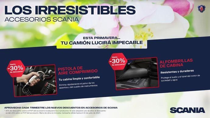 Ya es primavera en Scania: 'irresistibles accesorios' suecos