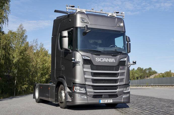 Scania: camiones autónomos en autopistas suecas