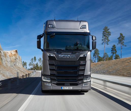 Scania muestra en la IAA la generación sin diésel