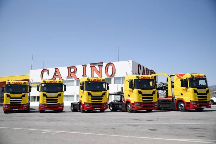 Scania entrega cinco unidades de su nuevo S450 Normal a una empresa de mudanzas