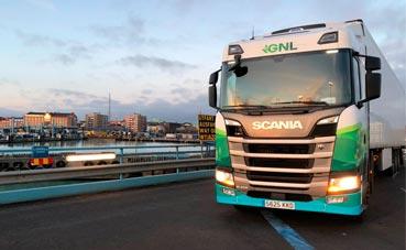 Viaje de Castellón a Estocolmo en un Scania 410 de GNL con tres paradas