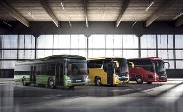Scania mostrará su gama de combustible sostenible en Busworld