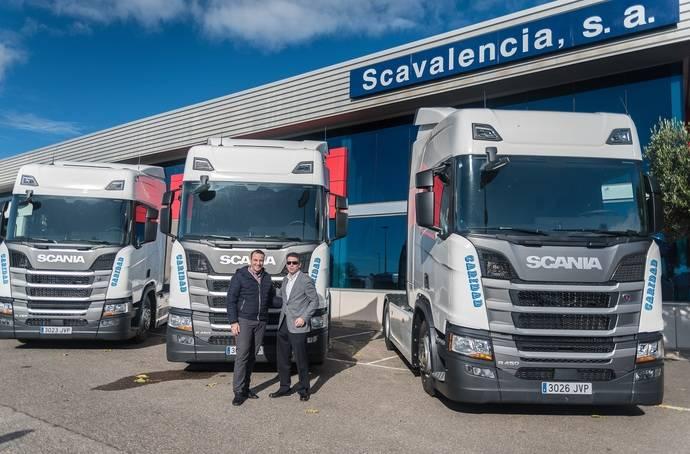 Delgo recibe las primeras unidades de la nueva generación Scania