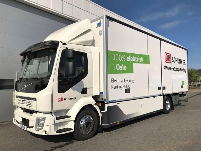 DB Schenker: logística 100% eléctrica en Oslo