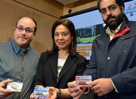 Disponibles los nuevos abonos del autobús urbano que reducen el coste según la renta familiar